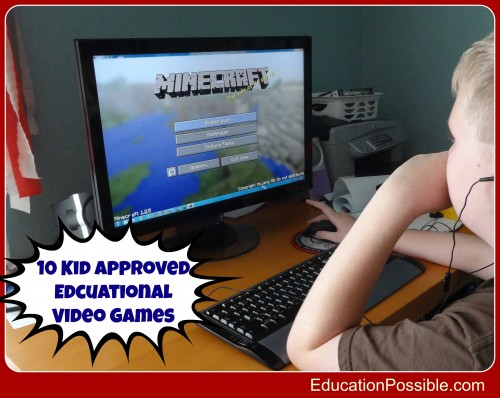 10 Kid Approved Educational Video Games - EducationPossible.com