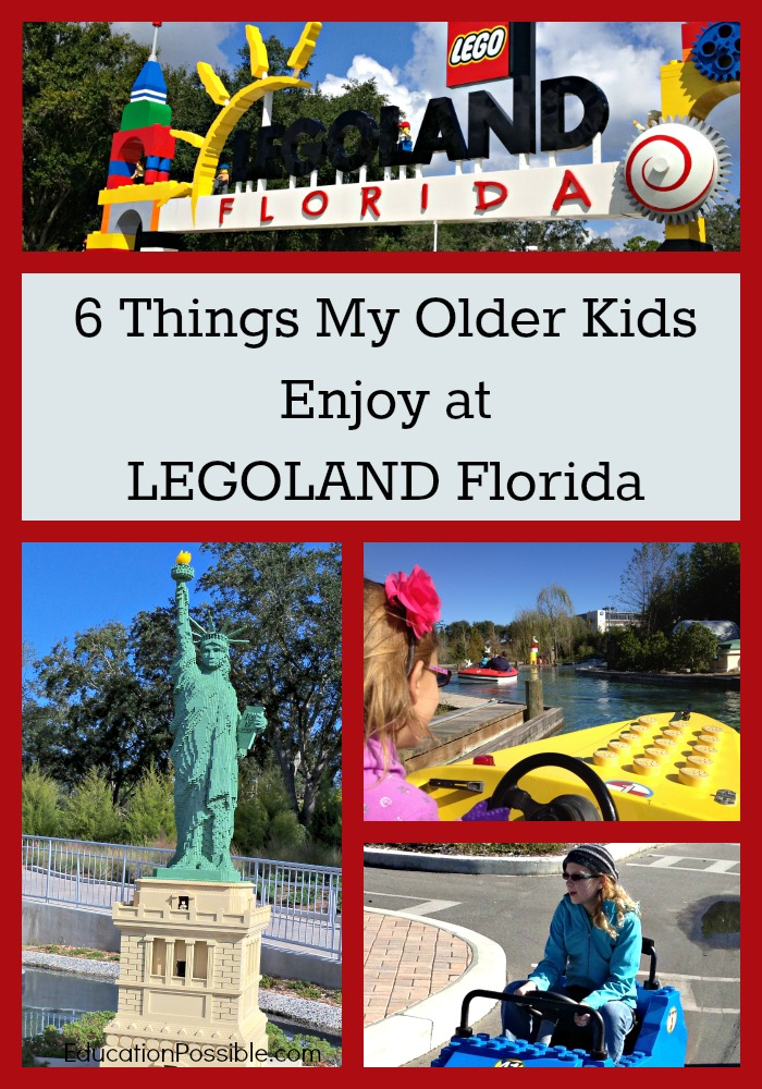 6 Things my Older Kids Enjoy at LEGOLAND Florida Education Possible