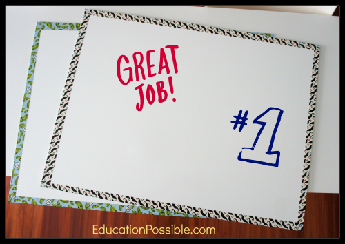 How to Make a Dry Erase Board (White Board) in Minutes - EducationPossible