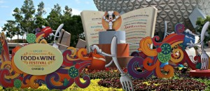 Learning at Epcot's Food & Wine Festival