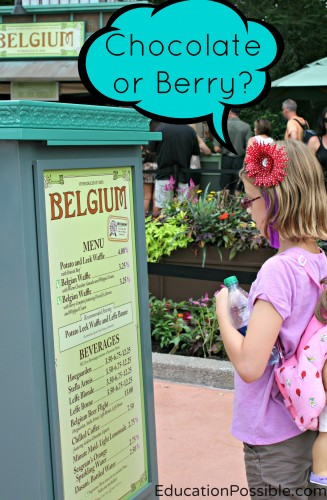 Learning at Epcot's Food and Wine Festival EducationPossible