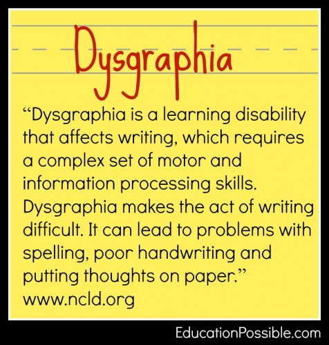 Essay writing and dyslexia