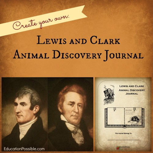 Lewis and Clark Animal Discovery Journal