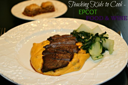 Teaching Kids to Cook-Epcot Food & Wine EducationPossible