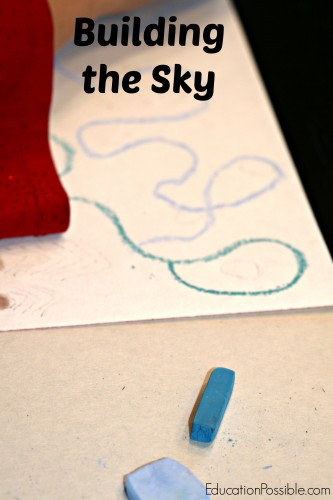 Simple Christmas Art with Chalk Pastels EducationPossible