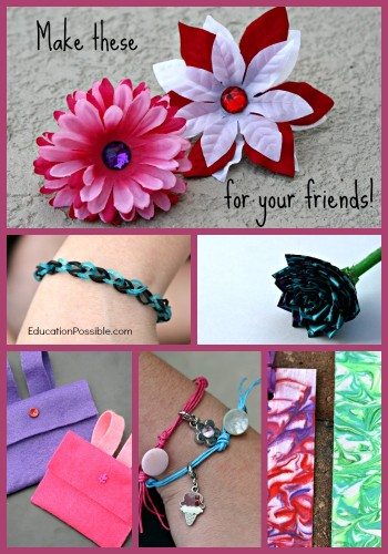 Easy diy gift ideas kids can make and mom 39 s library 71 for Easy presents to make for friends