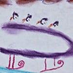 Art in 30 Minutes: Winter Olympics Chalk Pastels