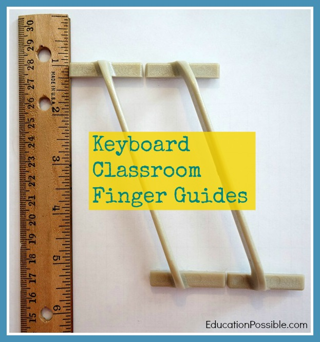 Keyboard Classroom Finger Guides