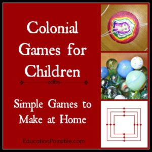 Colonial Games for Children