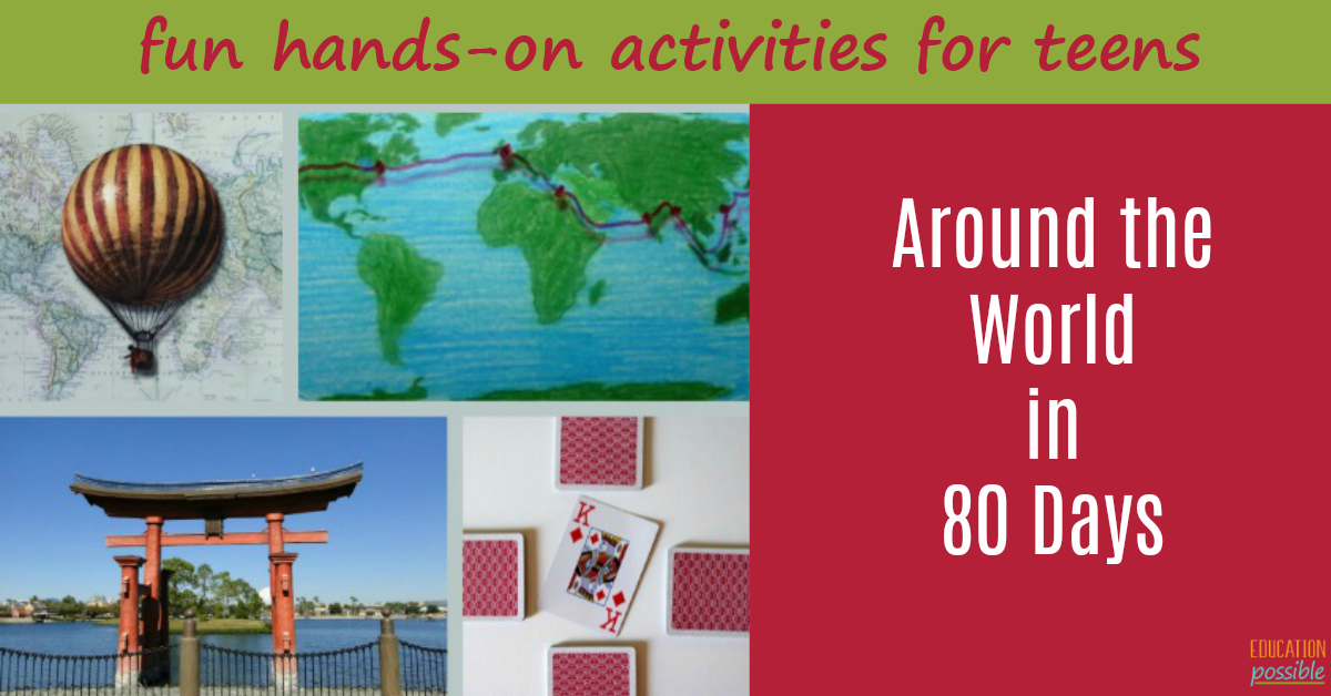 Around The World In 80 Days Book Study Activities