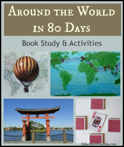 Around the World in 80 Days Book Study & Activities
