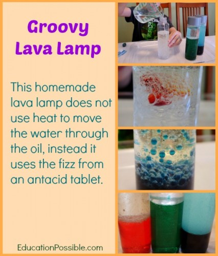 lava lamp science fair project My daughter is trying to make a homemade lava lamp for her science fair project we found a website that listed the ingredients, but not the mixture of them.