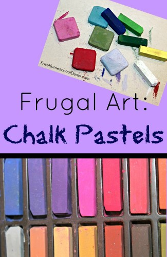 Art on a Budget Chalk Pastels Education Possible