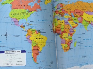 Geography Activities: World Atlas Scavenger Hunt