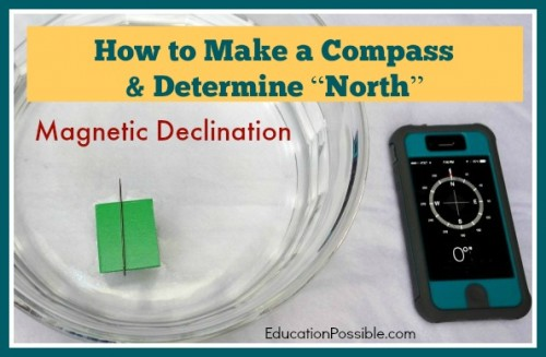 How to Make a Compass and Determine North