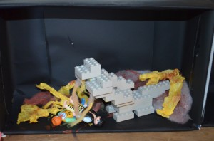 Making a Diorama of Danteís Inferno