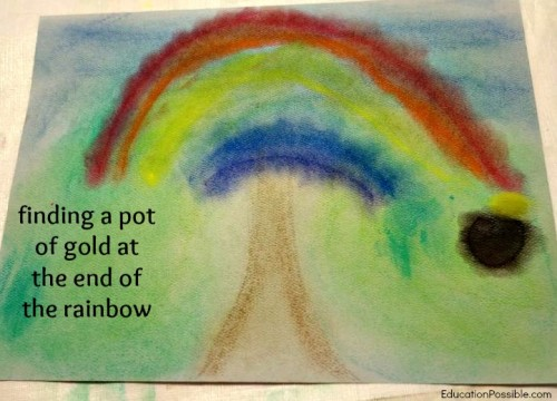 Celebrating Spring with Chalk Art Education Possible