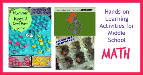 Hands-on Learning Activities for Middle School - Math