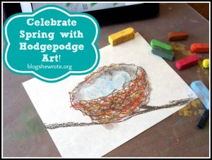 Celebrate Spring with Hodgepodge Art!