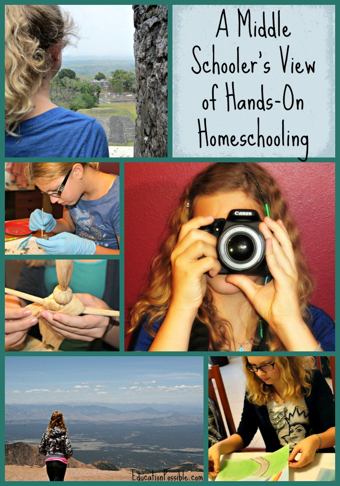 A Middle Schooler's View of Hands-On Homeschooling Education Possible