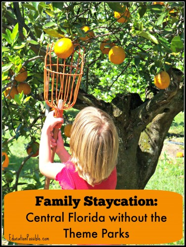 Family Staycation: Central Florida without the Theme Parks Education Possible