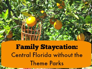 Family Staycation Central Florida without the Theme Parks featured