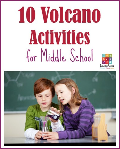 Fun volcano activities for middle school.