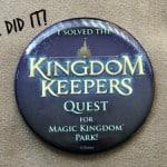 Kingdom Keepers Quests at Disney's Magic Kingdom