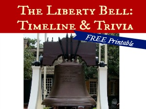 The Liberty Bell: Timeline & Trivia – FREE Printable