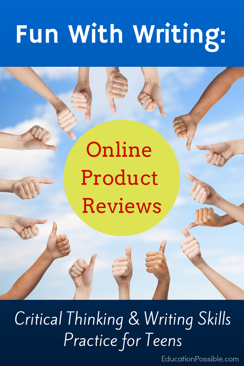 Fun With Writing: Online Product Reviews