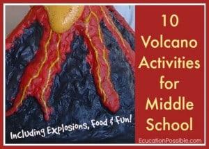10 Volcano Activities for Middle School