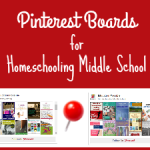 10 Pinterest Boards for Homeschooling Middle School