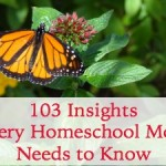 103 Insights Every Homeschool Mom Needs to Know