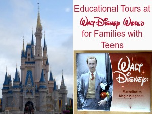 Educational Tours at Walt Disney World for Families with Teens - EducationPossible