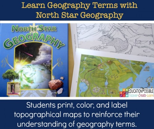 Use North Star Geography maps to learn geography terms.
