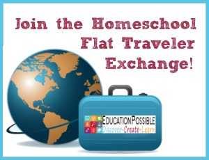 Join the Homeschool Flat Traveler Exchange!