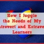 How I Juggle the Needs of My Introvert and Extravert Learners