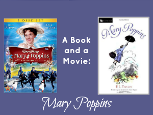 A Book and a Movie: Mary Poppins