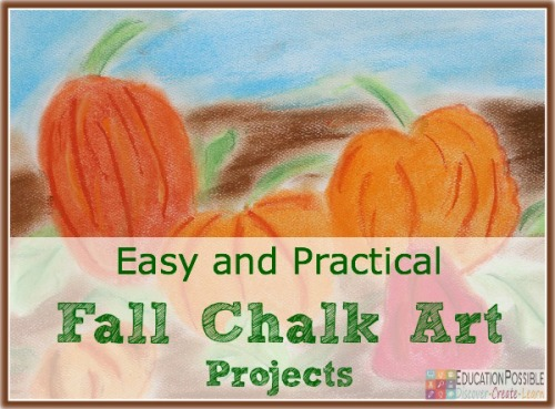 Easy and Practical Fall Chalk Art Projects - Education Possible