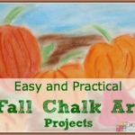 Easy and Practical Fall Chalk Art Projects
