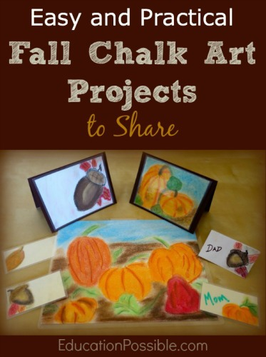Fall Chalk Art Projects to Share - Education Possible