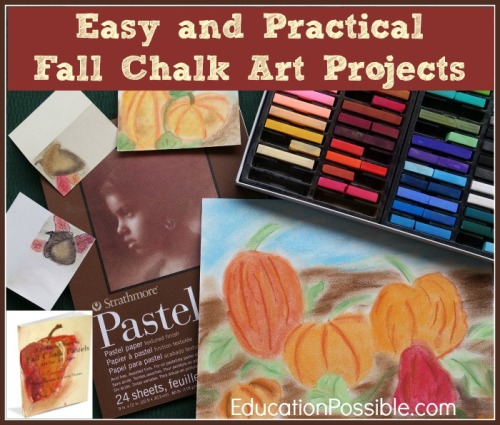 Fall Chalk Art Supplies - Education Possible