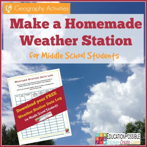 Geography Activity: Make a Homemade Weather Station - Education Possible