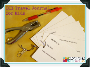 Geography Activities: DIY Travel Journal for Kids [FREE Printable]
