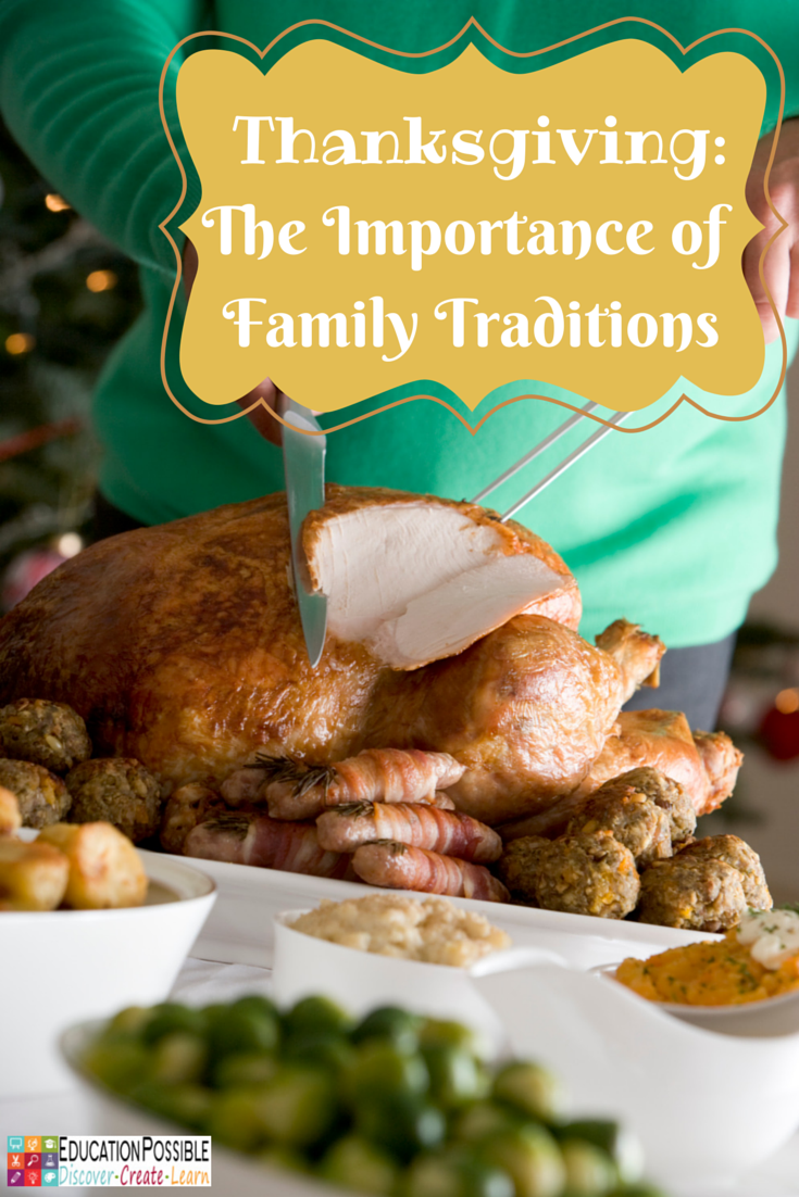 family tradition essays thanksgiving Family traditions essays americans have many customs and traditions rooted in the cultures of our forefathers who were either native americans or who settled this great land after journeying long distances from other nations in.