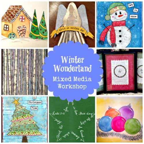 Winter Wonderland: Mixed Media Workshop for Older Kids @Education Possible