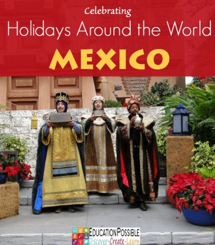 We typically take a break from our regular homeschool studies during the month of December and use the time for some creative history and geography lessons.  We use crafts, activities, and field trips to help us learn about holiday customs around the world. We are happy to share some of our favorite holiday activities and encourage your family to get to know how other families are Celebrating Holidays Around the World!