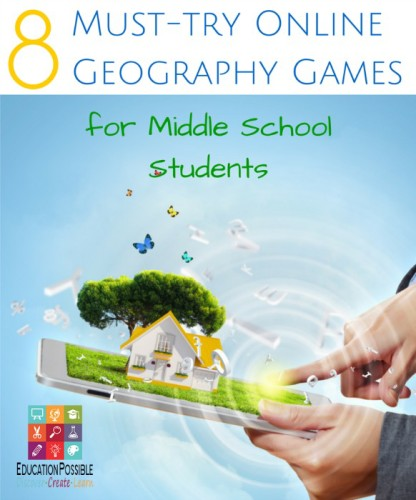 8 Must-try Online Geography Games for Middle School - Education Possible