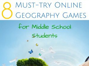 Online Geography Games for Middle School - Education Possible