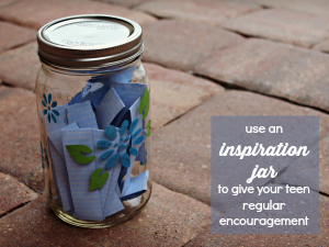 Create an Inspiration Jar for your Teen